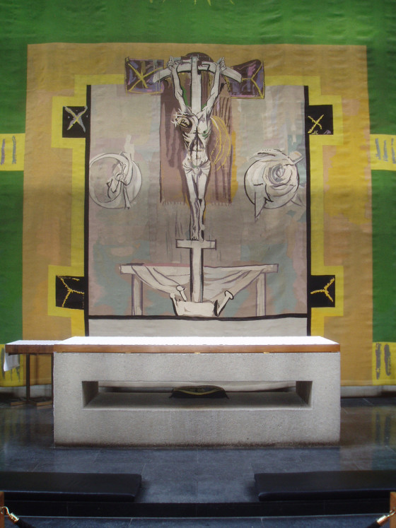 Figure 21: Sutherland crucifixion, Coventry Cathedral