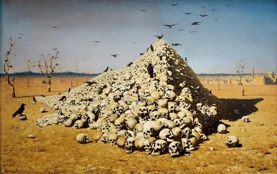 Vasily Vereshchagin, The Apotheosis of War, 1871