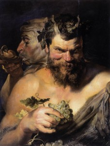 Peter Paul Rubens, Two Satyrs, 1618-1619