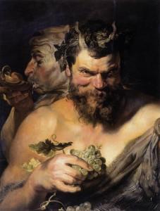 Peter Paul Rubens, Two Satyrs, 1618-1619