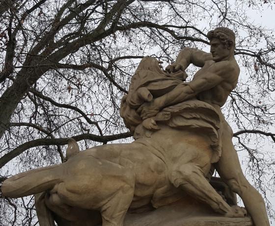 Ernst Seger, Lion, Bismarck Fountain, Wroclaw, Poland