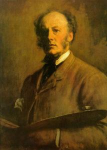 John Everett Millais, Self-Portrait
