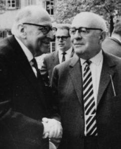 Max Horkheimer & Theodor Adorno