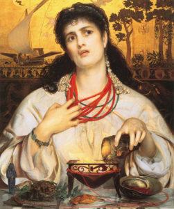 Frederick Sandys, Medea, 1866-1868