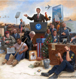 John McNaughton, Obamanation (detail)