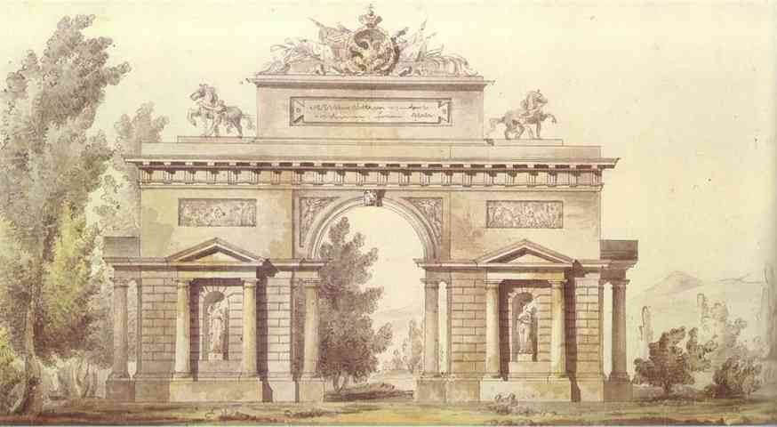 design_of_a_triumphal_arch