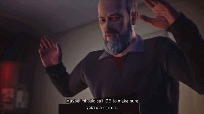 Hank, from Life is Strange 2