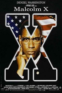 Theatrical poster for Spike Lee's Malcolm X