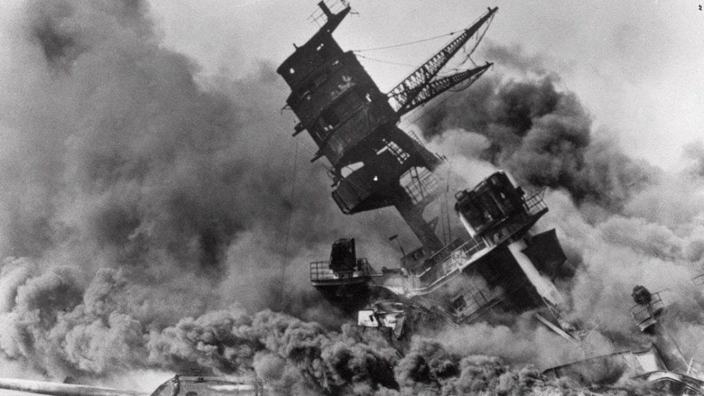 Attack on Pearl Harbor, 1941.