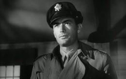Gregory Peck as Brigadier General Frank Savage in Twelve O'Clock High