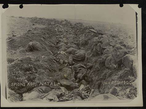 The British dead at Spion Kop.